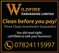 Wildfire Canvassing Services - door to door canvassing exclusively for domestic window cleaning work.